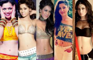 TV actresses' naval show: Who looks SEXIEST?