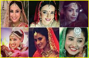 Which actress looked MOST GORGEOUS as a bride?