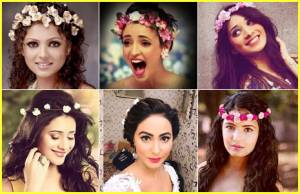 Which TV beauty looks GORGEOUS in tiaara?