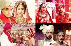 Which TV couple looks BEST in wedding attire?