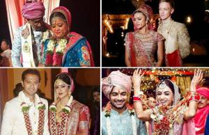 Which bride looks most stunning in her wedding attire?