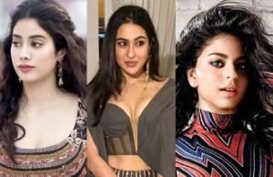 Suhana Khan, Jhanvi Kapoor, Sara Ali Khan
