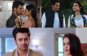 Mouni Roy & Arjun Bijlani as Shivanya & Ritik, Mouni Roy & Karanvir Bohra as Shivangi & Rocky, Surbhi Jyoti & Pearl V Puri as Be