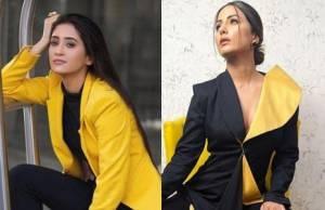Shivangi Joshi, Hina Khan