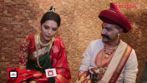 Meet Anuja Sathe aka Radha Bai & Manish Wadhwa aka Balaji Vishwanath from Peshwa Bajirao