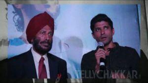 Run Farhan Run-Trailer launch of Bhaag Milkha Bhaag