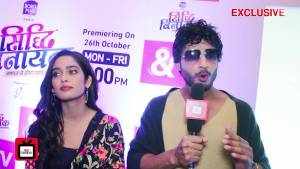 Nitin and Neha Talk About Their Characters In SiddhiVinayak