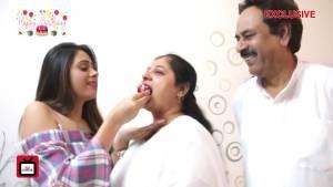 Hiba Nawab celebrates her birthday with TellyChakkar