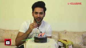Mishkat celebrates his birthday with TellyChakkar