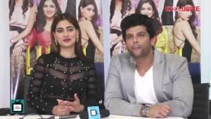 Kushal Tandon and Karishma Sharma get in a DEBATE