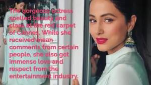 Hina Khan is left speechless by PeeCee's warm gesture at Cannes 2019