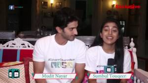 Mudit Nayar and Sumbul Touqeer take up the Isharon Isharon Mein Challenge