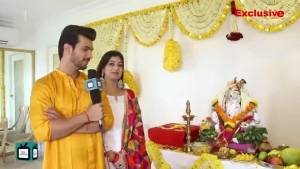 Arjun Bijlani's sweet gesture on Bappa's birthday