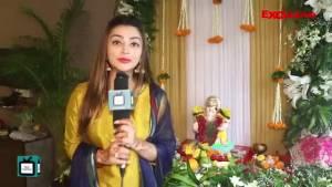 Iira Sone celebrates Ganesh Chathurthi with TellyChakkar