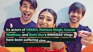 Mohena Kumari & Gaurav Wadhwa dedicate a song for Rishi Dev