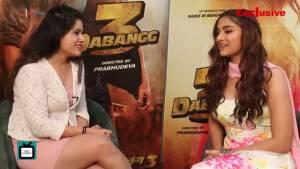 Dabangg 3's Saiee Manjrekar SPILLS secrets about co-stas Salman Khan, Sonakshi Sinha, and others