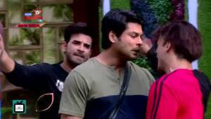 Sidharth-Asim's verbal war I Vishal Aditya Singh cheats in the task; Asim supports