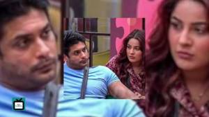 Sidharth kisses Shehnaaz Gill   Sidnaaz have an adorable moment in the Bigg Boss 13 house