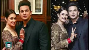 Prince Narula proposes wife Yuvika Chaudhary in a special way on national television
