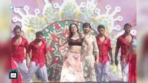 On Location: Kundali Bhagya | Holi Special | Karan-Preeta's dance number in Rang Malang