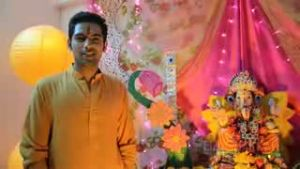 Ganpati Bappa Morya with Ankit Bathla and Nikkhil Chadda
