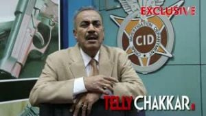 Tellychakkar                 .com catches up with Shivaji Satam on the sets of CID
