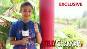 Zhunj contestant Ruchi Savarn gets talking with Tellychakkar.         com