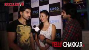 Lovely couple Gurmeet-Debina gets candid with Tellychakkar.      com