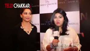 'Dance with Madhuri' through her Mobile App