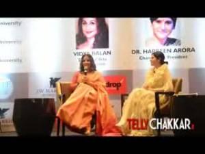 Vidya Balan honoured with doctorate