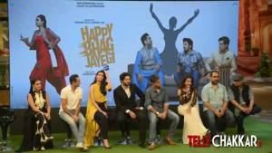 Happy Bhag Jayegi TRAILER launch on the set of The Kapil Sharma Show