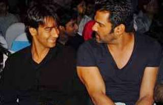 Ajay Devgn and Suniel Shetty