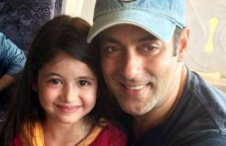 Salman Khan and Harshaali Malhotra
