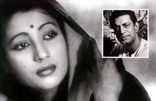 Suchitra Sen and Satyajit Ray