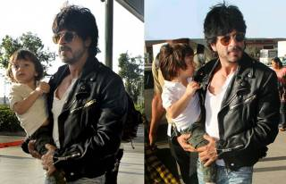 SRK and AbRam Khan