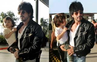 SRK and AbRam Khan