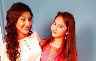 Shivya Pathania and Simran Natekar