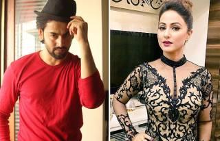 Shashank Vyas and Hina Khan