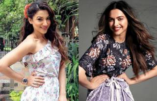 Gauahar Khan and Deepika Padukone