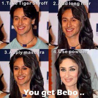 Tiger bana Bebo