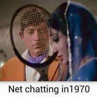 'Net' chatting!