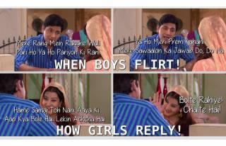Flirt ka punchnama!