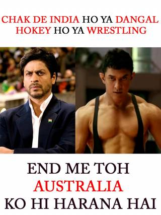 Aussies go back!