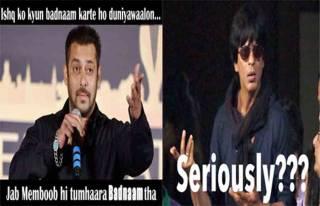 Salman Khan, SRK