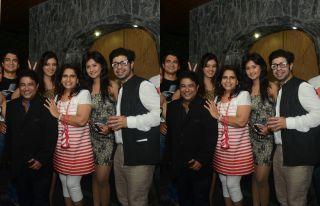 Ashiesh Roy's birthday bash