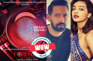 WOW! Here is the first look of Vikrant Massey and Radhika Apte starrer thriller titled Forensic
