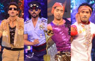 Match the handsome hunks with their performance song at the 12th Indian Telly Awards