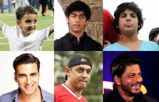 Match Bollywood stars with their real life kids