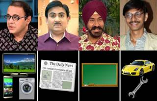 Match Taarak Mehta characters with their professions