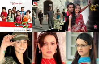 Match Sanaya Irani's character names with her shows.